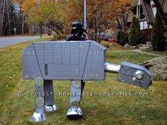 Creative Star Wars AT-AT Walker Costume... This website is the Pinterest of costumes