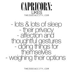 What Zodiac Capricorn Like. For much more on the zodiac signs, click here.