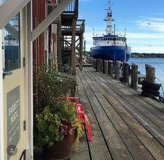 "Union Wharf, Portland, Maine (Photo Credit: Rebecca Falzano, editor-at-large, ""Old Port Magazine"")"