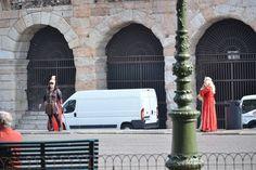 Verona, fuori dall'Arena - 16 Marzo 2012 - Fotografia di Barbara Gozzi -   http://italireland.net/