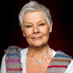 Happy 80th birthday Judi Dench. A true acting legend and looking stunning at 80!