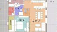Artecology // Архитектурное проектирование, дом на склоне, Форэскиз, Чир...
