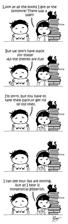 No such thing as too many books...ever!