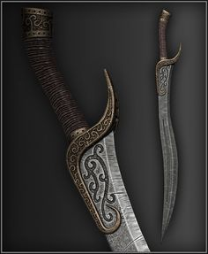 Skyrim dagger mod from the Nexus
