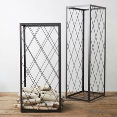 Handmade from sturdy iron, this practical firewood holder features a classic latticework frame.- Iron- Indoor use only- USASmall: Firewood Holder, Firewood Storage, Fire Pit Accessories, Log Holder, Tent Sale, Perforated Metal, Outdoor Garden Furniture, Basket Decoration, Furniture Sale
