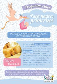 ¿Por qué los bebés se ponen amarillos los primeros días de vida?