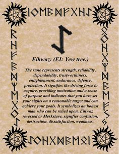 RUNE OF THE DAY ENDURANCE IS THE KEY! BLESSINGS! GALLAN