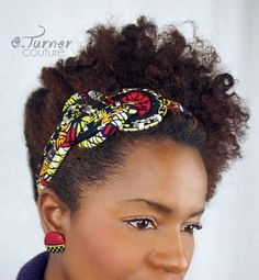 African Headband Ankara Headband African Wax by ETurnerCouture African Attire, African Wear, African Dress, African Accessories, Head Accessories, African Necklace, African Jewelry, African Inspired Fashion, African Fashion
