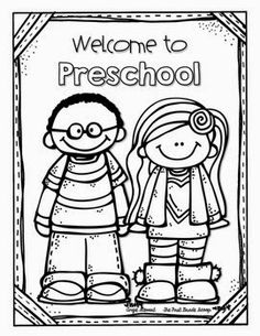 custom coloring pages...great for the first day of school morning ...