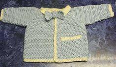 Ravelry: My Little Man Baby Sweater pattern by Mandy Nihiser free pattern