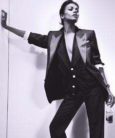 Suit Up, Ladies! → Zoe Saldana (2011)