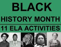 black history month essay ideas