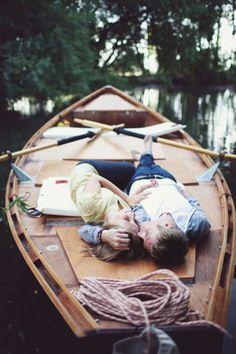 Summer romance.