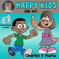 These are two cute, happy kids, together with the black and white images. All four images are .png files saved in 300 dpi for clear, crisp images. ***************************************************************************You might also like:Happy Kids - Charles and MariaHappy Kids - Patty and JohnnyHappy Kids - Mike and Sarah*****************************************************************************You may use these images for personal or small commercial use.