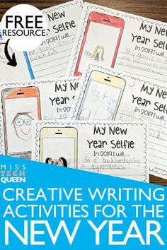 Have your students start the New Year off on a great note with my FREE creative writing activity! This could be used for 1st, 2nd, 3rd, 4th, or 5th grade students. This is a great time for your students to set goals, and start the second half of the year with an engaging activity!