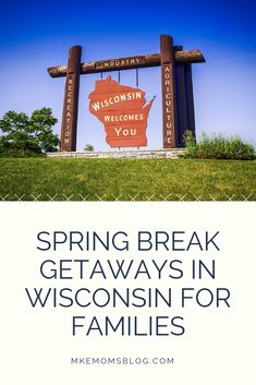 Even though Wisconsin may not be the first place you think of for spring break getaways, it definitely should be. There are so many fun and beautiful places to explore close to home. Welcome Spring, Close To Home, Travel With Kids, Spring Break, Milwaukee, Wisconsin, Festivals, Something To Do, Families