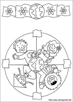 91 Mandalas printable coloring pages for kids. Find on coloring-book thousands of coloring pages. Mandala Coloring Pages, Colouring Pages, Printable Coloring Pages, Coloring Sheets, Coloring Books, Harmony Day, Cultures Du Monde, Bible Crafts, Craft Ideas