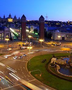 La plaça d'Espanya, Barcelona
