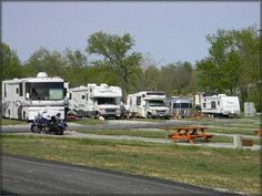 Whispering Hills RV Park, Georgetown Kentucky. For our trip to SC.