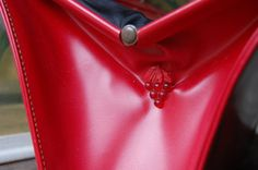 Red 1950's purse with cherries detail!...