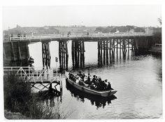 Maribyrnong Bridge c.1907 by mvlslibrary, via Flickr