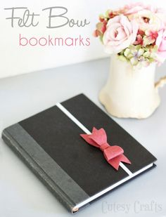 50+ DIY Gifts Under $2 Bow bookmark