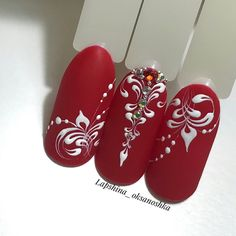 Fails Art Stamping Mandala 16 New Ideas Xmas Nails, Red Nails, Winter Nails, Spring Nails, Cute Nails, Pretty Nails, Nail Art Arabesque, Mandala Nails, New Nail Art