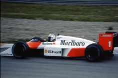 Alain Prost (Marlboro McLaren International), McLaren MP4/3 - TAG-Porsche TTE PO1 1.5 V6 (t/c - 4.0 bar limited), 1987 Belgian Grand Prix, Circuit de Spa-Francorchamps