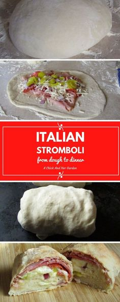 This from scratch recipe for stromboli is an amazing OAMC recipe! We always have the freezer stocked!
