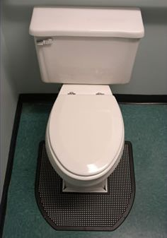 SANITRO Toilet Urine Absorbent & Odor Removal Disposable toilet floor mat absorbs urine spills & urine odors. Improves toilet appearance & hygiene by eliminating urine puddles. Results in cleaner, drier & safer floors. Easy clean-up reduces maintenance costs.