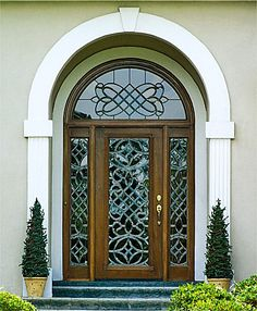 Exterior doors with glass super glass designs leaded glass entry this mahogany front exterior entry is a 36 x 80 style f eventshaper