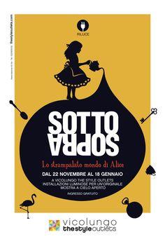 Domenica 7 dicembre una caccia al tesoro ispirata ad Alice! @outletvictims http://www.circololettori.it/alicesottosopra/