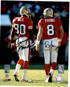 49er Nation SF Niners San Francisco 49ers Steve Young Jerry Rice Quest for Six