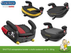 Autosjedalica Booster s Isofixom za djecu od 15 - 36 kg Peg Perego, Baby Car Seats, Children, Young Children, Boys, Kids, Child, Kids Part, Kid