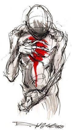 Online Portfolio of Artist Derek Hess Derek Hess Art, Depression Art, Drawings Of Depression, Arte Robot, Sketch Tattoo Design, Dark Drawings, Art Folder, Tatoo Art, Dark Art