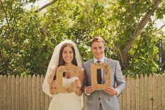 wooden initial letters for a guestbook | CHECK OUT MORE IDEAS AT WEDDINGPINS.NET | #weddings #uniqueweddingideas #unique