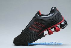 Adidas Porsche Design S2 Original Mens BOUNCE: S2 Running Shoes 2012 Black/Red New