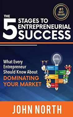 The 5 Stages to Entrepreneurial Success: What Every Entrepreneur Should Know About Dominating Your Market by John North - CreateSpace Independent Publishing Platform Got Books, Books To Read, Rumi Books, Marketing Pdf, What Is The Secret, National Geographic Kids, What To Read, Book Photography, Free Reading
