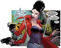 Bride of Frankenstein - DC Comics - Seven Soldiers - Grant Morrison