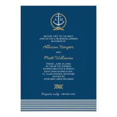 ==> consumer reviews          Wedding Rehearsal Dinner | Nautical Theme Invites           Wedding Rehearsal Dinner | Nautical Theme Invites so please read the important details before your purchasing anyway here is the best buyHow to          Wedding Rehearsal Dinner | Nautical Theme Invite...Cleck link More >>> http://www.zazzle.com/wedding_rehearsal_dinner_nautical_theme_invites-161494309222151569?rf=238627982471231924&zbar=1&tc=terrest