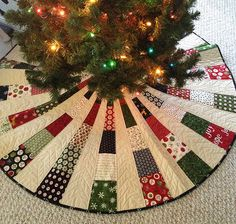 Christmas tree skirt #1