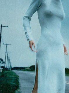 """Elle Russia   November 1997 """"Aristocratic Paleness"""""""