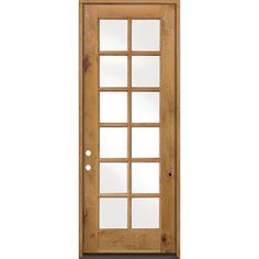 Beautiful Unfinished Interior French Doors