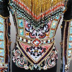 """Pinball Wizard"" Rail jacket, custom made for Hannah Overmyer"