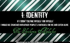 I: Identity