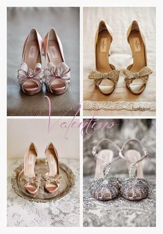 silovoglio... il BLOG oh, so beautiful shoes! #bride #shoes
