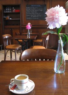 French cafe for coffee. A definite yessssss!