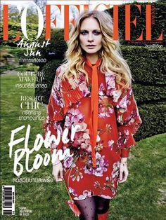 Poppy Delevingne Lofficiel Thailand August 2015 Cover