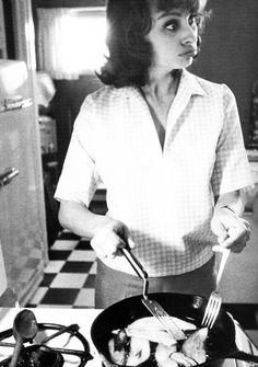 Sophia Loren loves cooking