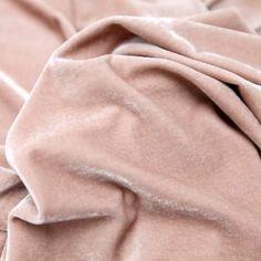 Tecido veludo molhado alemão rosê (outono/inverno) - Maximus Tecidos | Loja Online
